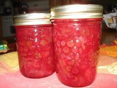 Rhubarb Pineapple Jam