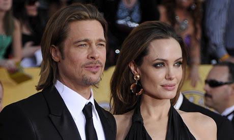 Image result for brad and angelina