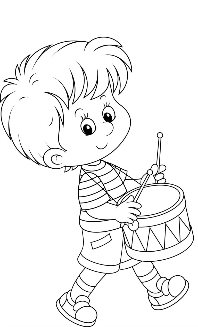 Boy coloring pages to download and print for free