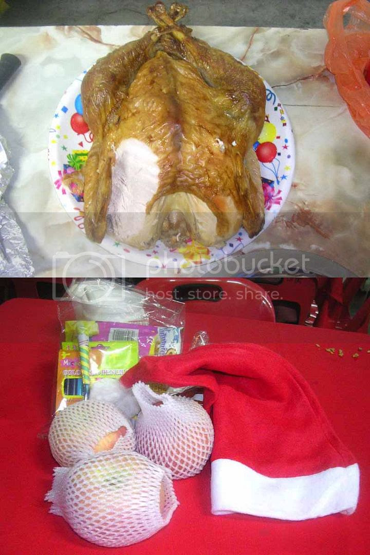 Turkey & Gifts for Guests