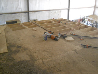 Barn Loft Final Floor Joists