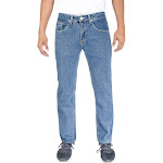 Alta Denim F-16 Designer Fashion Men's Straight Fit Jeans Raw Blue