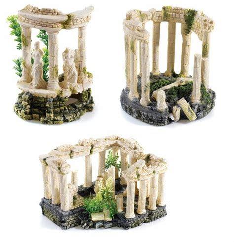 Details about Greek Roman Themed Ancient Ruins Aquarium