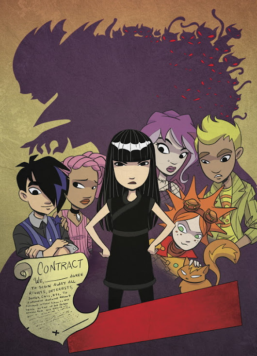 Emily And The Strangers Kickstart Your Heart In New Series! :: Blog :: Dark Horse Comics