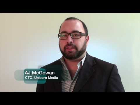 AJ McGowan, Unicorn Media (now Brightcove)