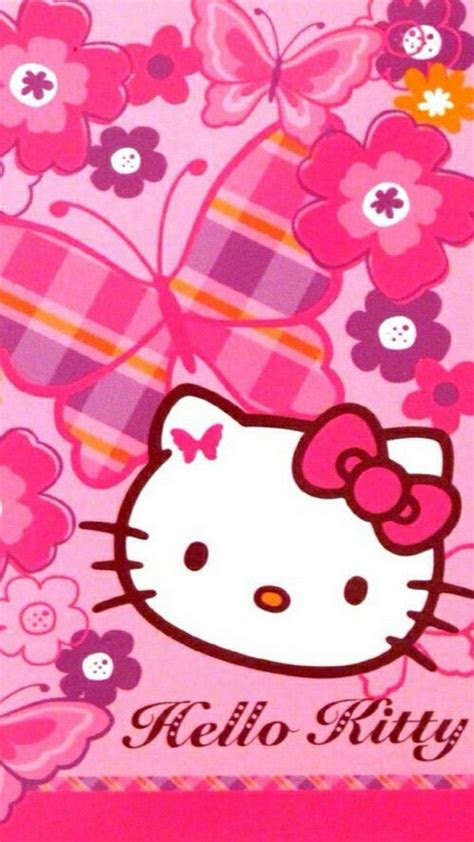 sanrio  kitty iphone   wallpaper  cute