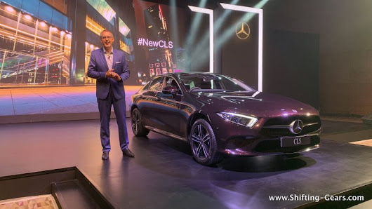 Mercedes-Benz launches new CLS in India for INR 84.70 lakh | Shifting-Gears