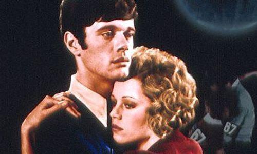 Jane Fonda y Michael Sarrazin, en Danzad, danzad, malditos.