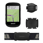 Garmin Edge 530 Sensor Bundle,Performance GPS Bike Computer with Mapping,Performance Monitoring and Popularity Routing
