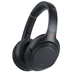 Sony WH-1000XM3 Wireless Noise-Canceling Over-Ear Headphones, Black WH1000XM3/B