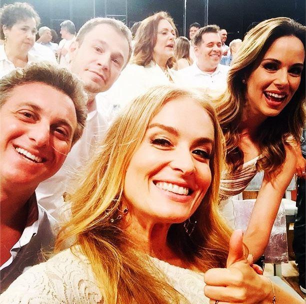 Luciano Huck, Angélica, Thiago Leifert e Ana Furtado  (Foto: Instagram/Reprodução)