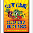 Yummy Coloring and Recipe Book: American Children's Cancer Association