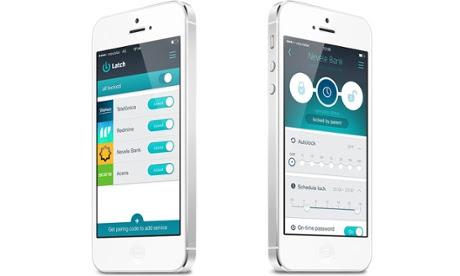 Latch security app