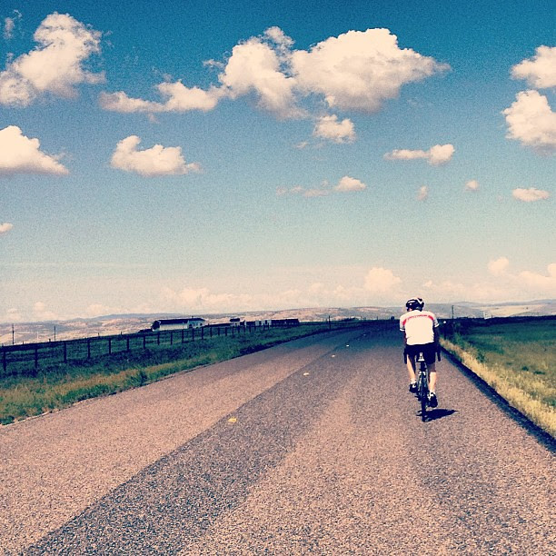 Day185 Another beautiful day for a ride // 43 miles today 7.4.13 #jessie365