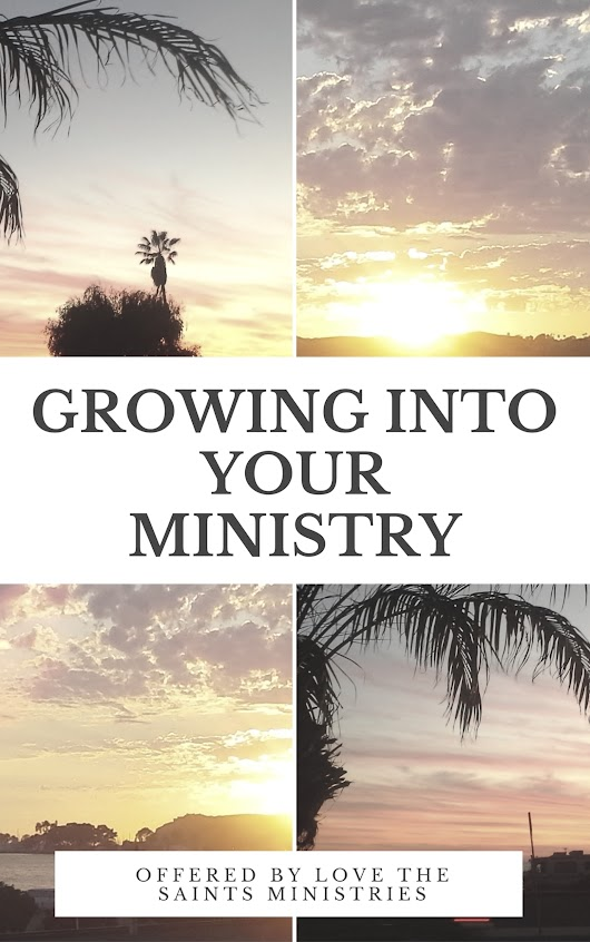 Growing into Your Ministry: Volume One