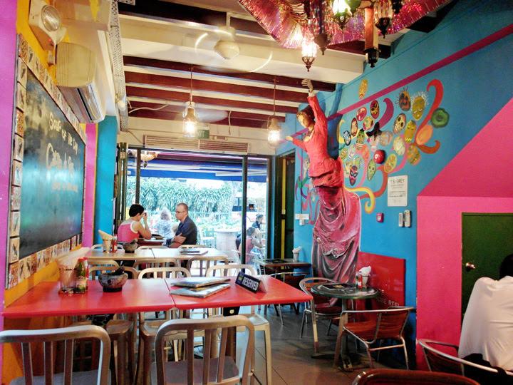 mexican restaurant haji lane