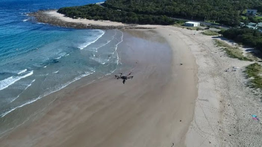 Drones swoop in to help maintain iconic Great Ocean Road