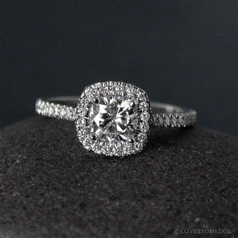 1000  ideas about Cushion Cut Halo on Pinterest   Cushion