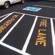 Boulder Parking Lot Striping | Fordham and MacLean Painting
