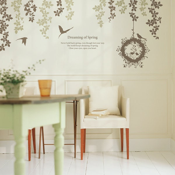 179 Wall Graphics - DREAMING OF SPRING