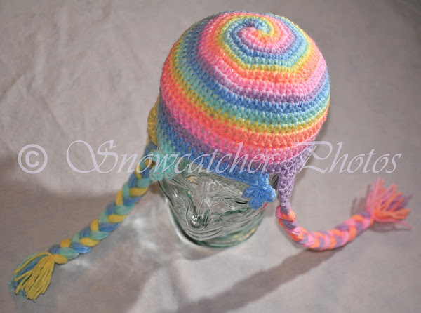 Lollipop Snowflake Hat
