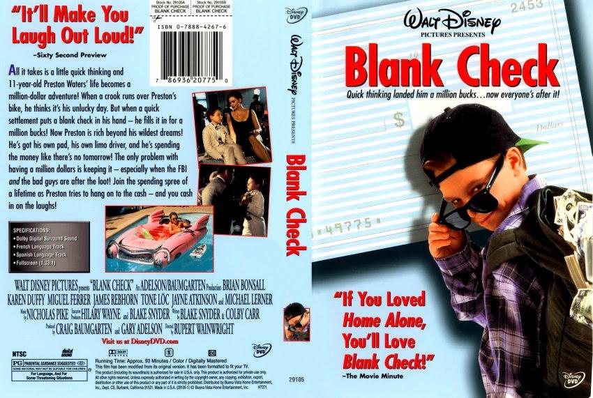 Blank check movie waterslide – cbrp