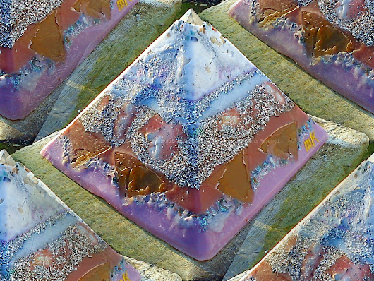Pyramid Orgonite Netherlands Channels - Natural Orgonite