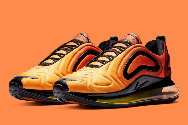 """218accd7293b6 First Look At The Nike Air Max 720 """"Sunrise"""""""