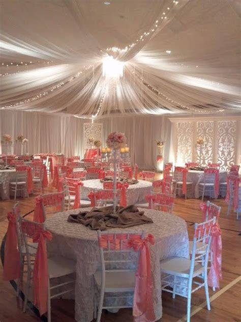 Completely redecorate an LDS cultural hall for a wedding