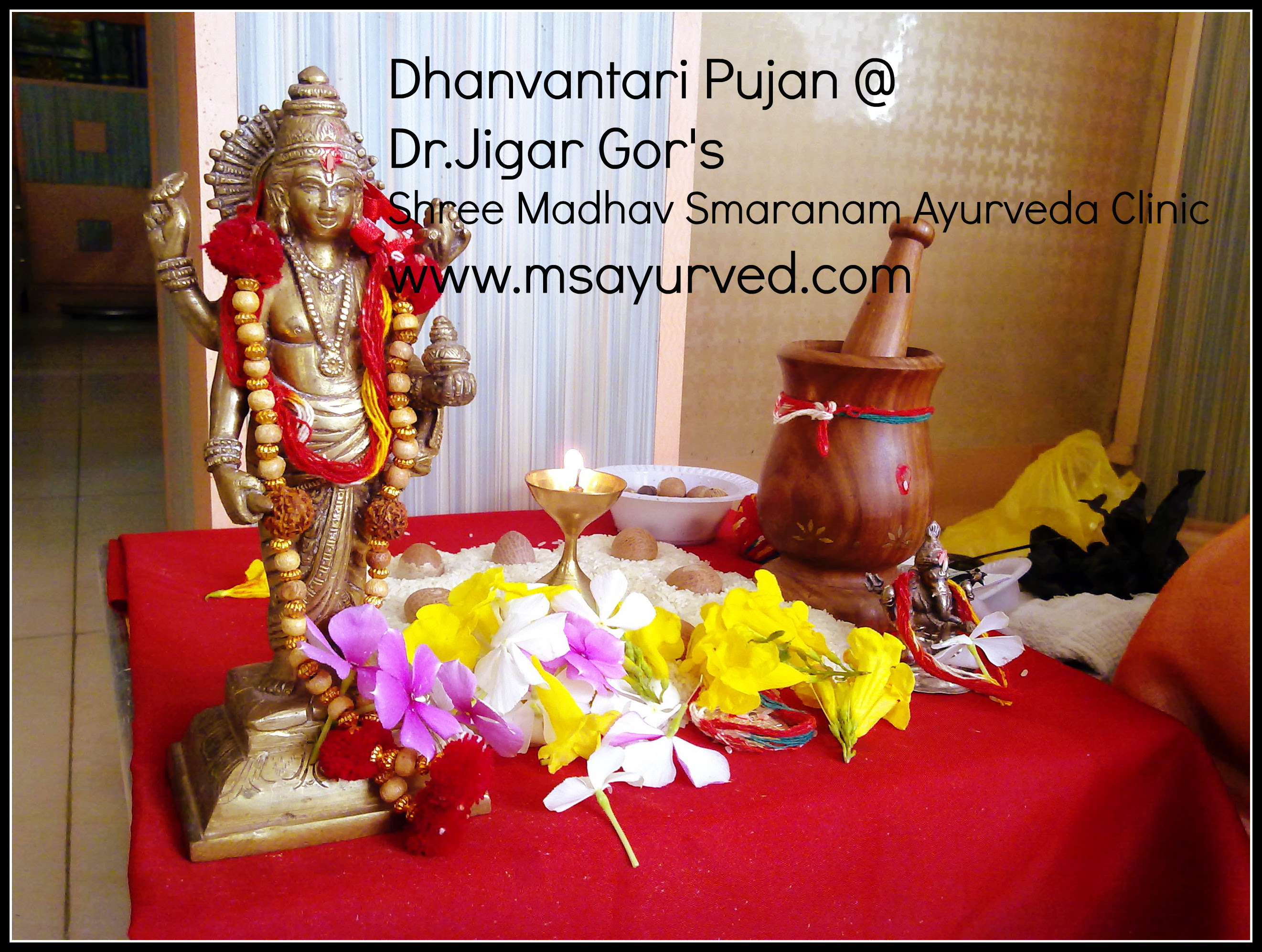 Shree dhanvantari bhagwan