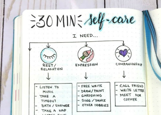Self-Care Activities You Actually Have Time For | Page Flutter