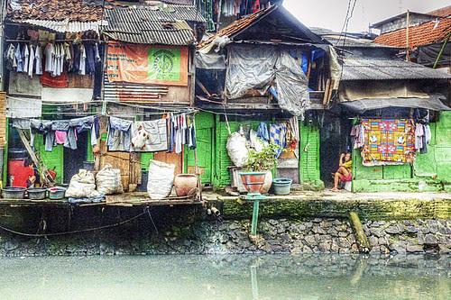 Tanah Tinggi slums, Jakarta