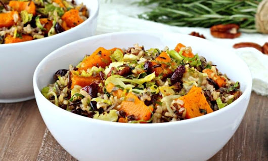 The Foodie Physician's Harvest Rice Bowls