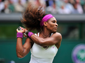 Serena Williams advanced to the finals of Wimbledon with a victory over Victoria Azarenka on Thursday.