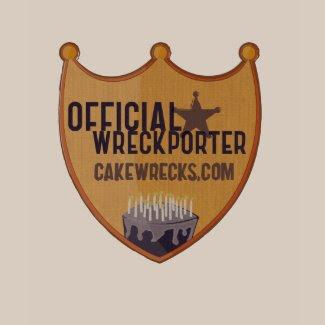 Official Wreckporter Badge shirt