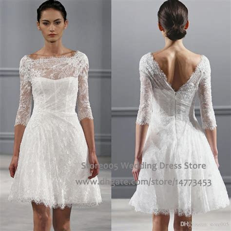 Compare Prices On Simple White Lace Wedding Dress With