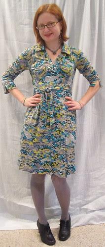Wrap Dress Front