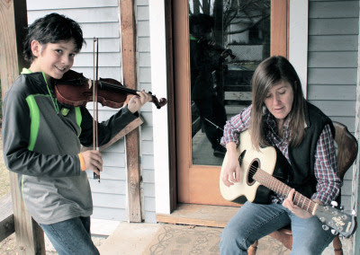 STRINGERS10-year-old Alex Cantu on violin with Amy Cantu accompanying on guitar.A little fiddling and a few songs you may recognize from the Great American Songbook.   Performing Sunday, May 3rd, from 2:30 to 3:00 pm in the 700 block of Spring.Water Hill Music Fest 2015.