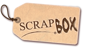 etiquette scrap box