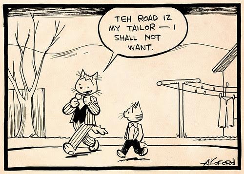 Laugh-Out-Loud Cats #2489 by Ape Lad