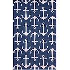 nuLOOM Despina Navy 2 ft. x 3 ft. Indoor/Outdoor Area Rug, Blue
