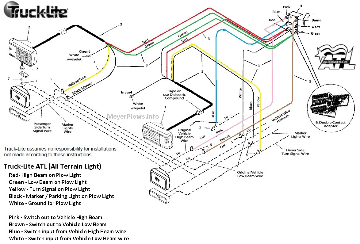Chevy Western Plow Light Wiring Diagram