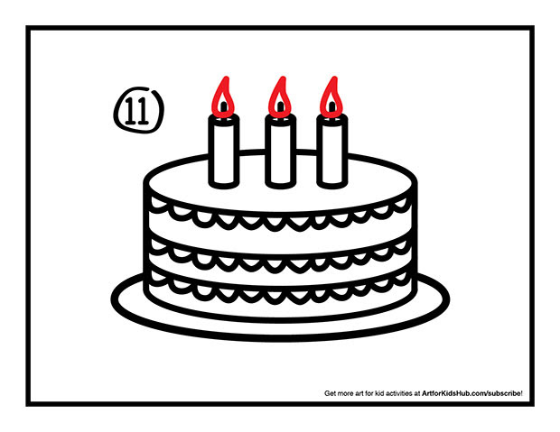How To Draw A Cake  Art Projects For Kids