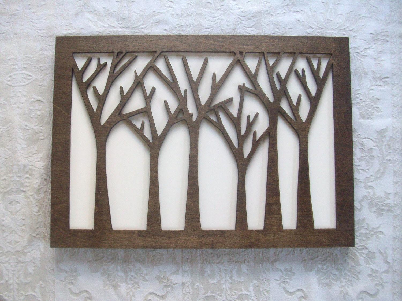 Items similar to Reclaimed Wood Modern Wood Wall Art - Large Art ...