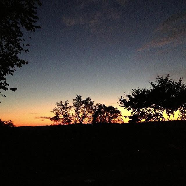 #Sunrise, #morningrun