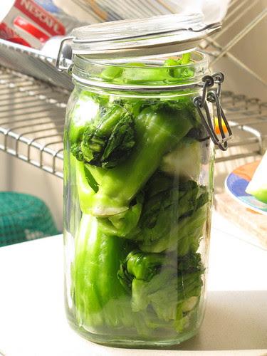 Kiam Chai / Hum Choy (Homemade Pickled Mustard Greens)