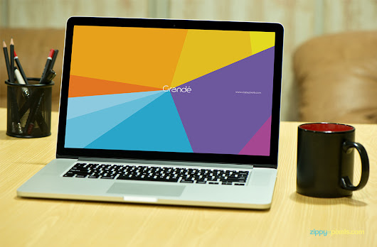 Photorealistic Device PSD Mockup - Free Macbook Pro Mockup