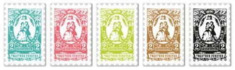 Wedding Postage Stamp Labels by Cathe Holden   Free