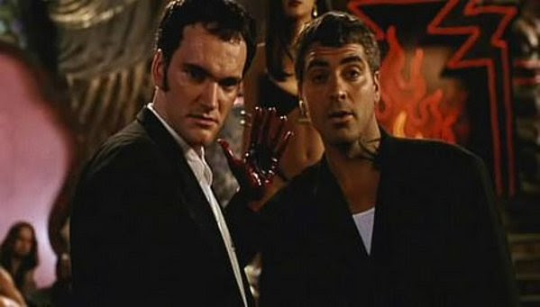 George Clooney & Quentin Tarantino in From Dusk Til Dawn