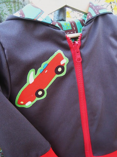 transportation hoodies car detail